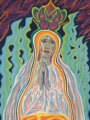 Painting - Queen Of Heaven by Robert SORENSEN
