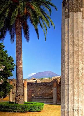 Photograph - Quiet Vesuvius by Lois Bryan