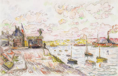 Painting - Quilleboeuf by Paul Signac