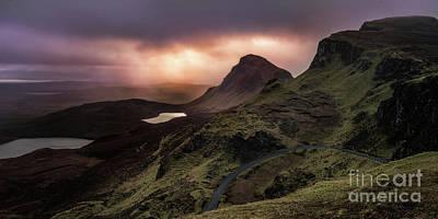 Photograph - Quiraing - Isle Of Skye by Matt Trimble