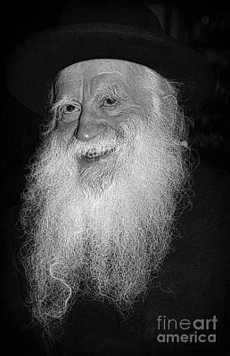 Photograph - Rabbi Yehuda Zev Segal - Doc Braham - All Rights Reserved by Doc Braham