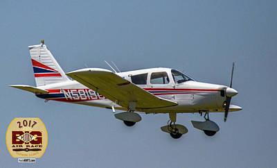 Photograph - Race 19 Fly By by Jeff Kurtz