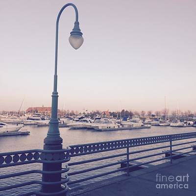 Photograph - Racine Harbor Wisconsin by Celestial Images