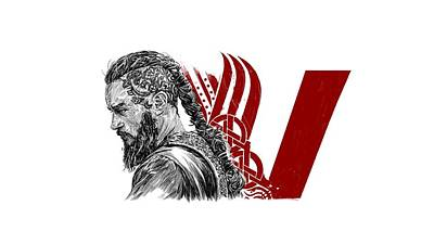 Rollo Digital Art - Ragnar by Roman V