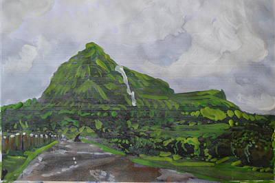 Painting - Visapur Fort by Vikram Singh