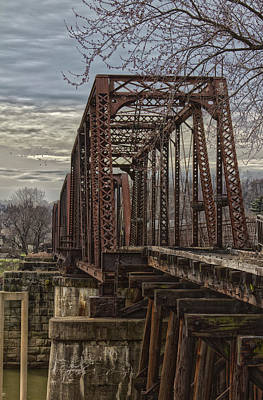 Photograph - Rail Bridge by Daniel Houghton