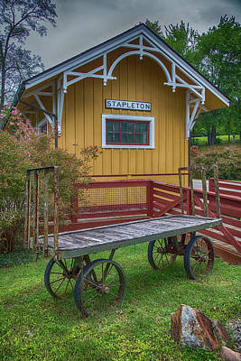 Wall Art - Photograph - Railroad Icons by Cliff Middlebrook