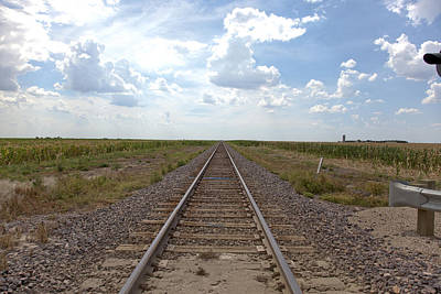 Photograph - Railroad Tracks by Scott Sanders