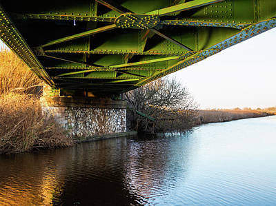 Photograph - Railway Bridge by Giovanni Bertagna
