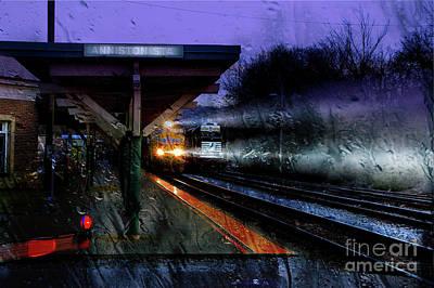 Photograph - Rain And Rail by Rick Lipscomb