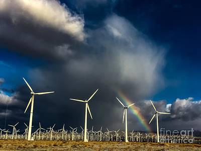 Photograph - Rainbow by Chris Tarpening