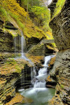 Photograph - Rainbow Falls  by Rick Kuperberg Sr