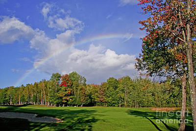 Photograph - Rainbow Over #2 by Butch Lombardi