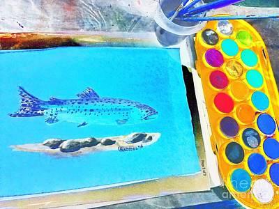 Rainbow Trout Original by Scott D Van Osdol
