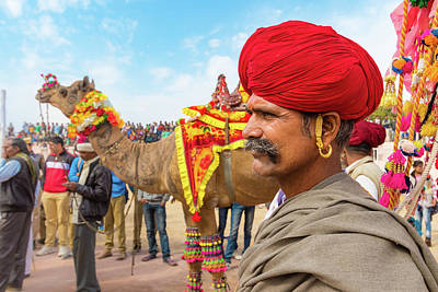 Photograph - Rajasthani Man by Nila Newsom