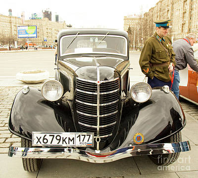 Photograph - Rally Of Classical Cars, Moscow by Irina Afonskaya