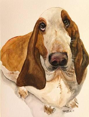 Listener Painting - Ralph by Ruth Luke