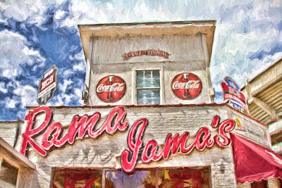 Rama Jama's Print by Scott Pellegrin