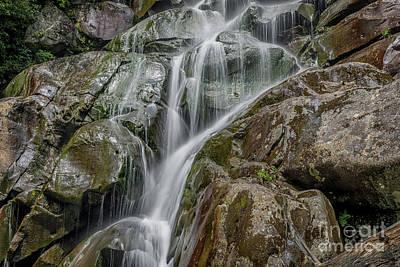 Photograph - Ramsey Cascades by Patrick Shupert