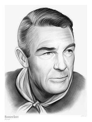 Drawings Rights Managed Images - Randolph Scott Royalty-Free Image by Greg Joens