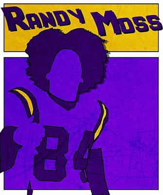Photograph - Randy Moss by Kyle West