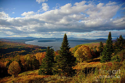Photograph - Rangeley Overlook by Alana Ranney