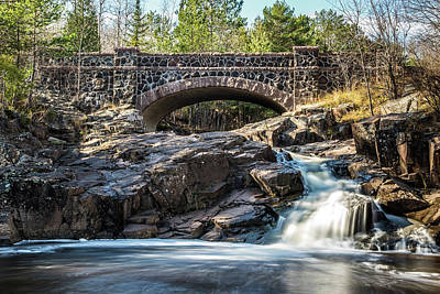 Duluth Photograph - Rapids by Paul Freidlund