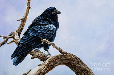 Raven Art Print by Igor Postash