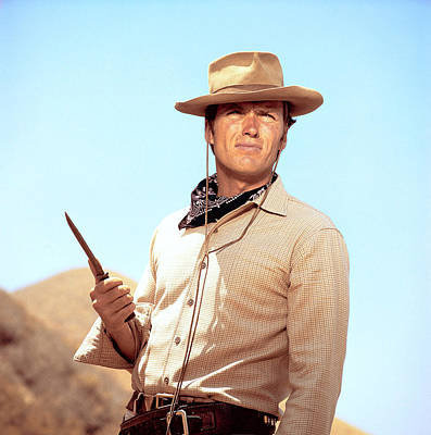 Ev-in Photograph - Rawhide, Clint Eastwood, 1959-66 by Everett