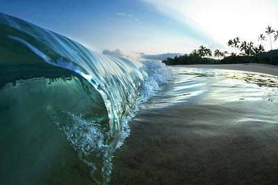 Islands Art Photograph - Razor's Edge by Sean Davey