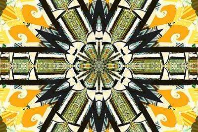 Digital Art - Razzle Dazzle by Jim Pavelle