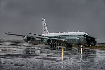 Rc-135 Rivet Joint Art Print