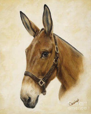 Painting - Ready Mule by Cathy Cleveland