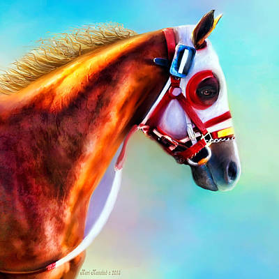 Ready To Race Art Print by Kari Nanstad