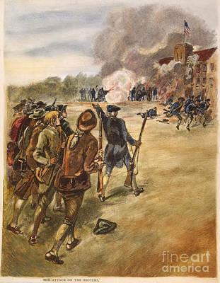 Rebels: Arsenal, 1787 Art Print by Granger