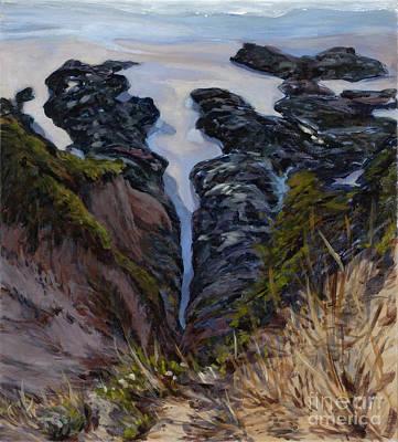 Painting - Receding Tide by Betsee  Talavera