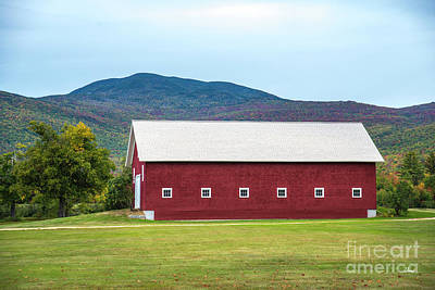 Photograph - Red Barn by Alana Ranney