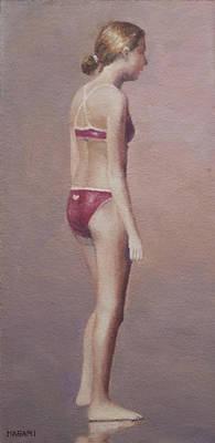 Painting - Red Bikini by Masami Iida