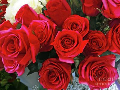 Photograph - Red Bouquet by Jasna Dragun