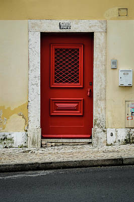 Photograph - Red Door by Marco Oliveira