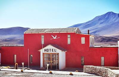 Photograph - Red Hotel by Sandy Taylor