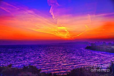 Photograph - Red Morning by Rick Bragan