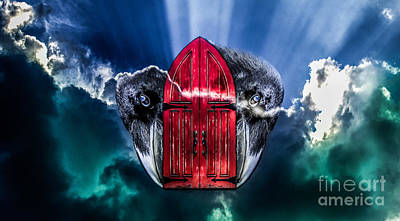 Photograph - Red Portal by Michael Arend