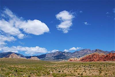 Photograph - Red Rock Caynon2 by Ralph Jones