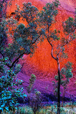Photograph - Red Rock by Rick Bragan