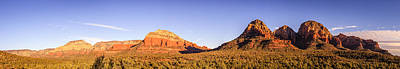 Photograph - Red Rocks Panorama by Alexey Stiop