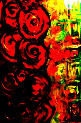 Painting - Red Roses by Nikki Dalton