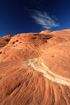 Photograph - Red Sandstone Formation In Canyonlands by Pierre Leclerc Photography
