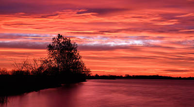 Photograph - Red Sky At Morning by James Barber