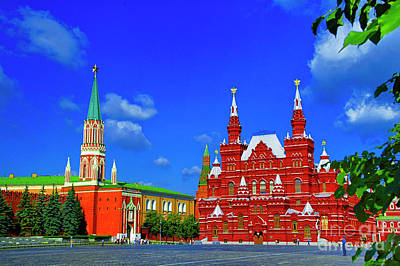 Photograph - Red Square by Rick Bragan